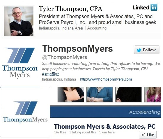 social media savvy accountants - Tyler Thompson