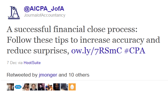 marketing on twitter - AICPA Journal of Accountancy