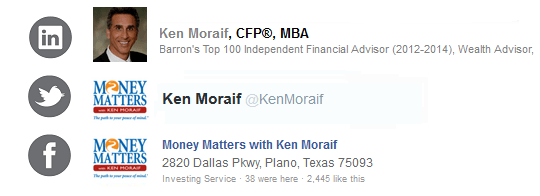 Kenneth Moraif | Money Matters