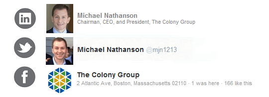 Michael Nathanson | The Colony Group