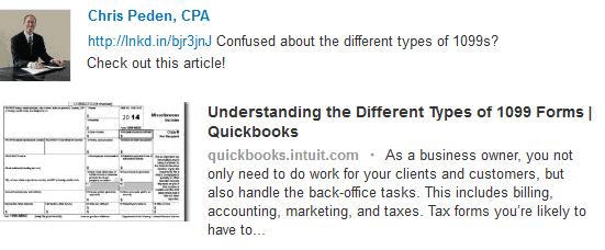 Chris Peden, Certified Public Accountant > Quickbooks site