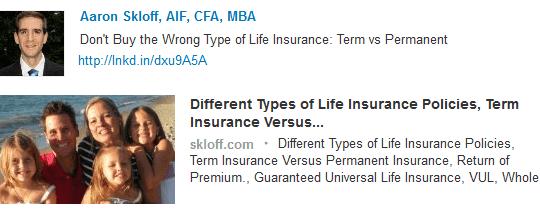 Aaron Skloff, Registered Investment Advisor > Skloff.com/Blog