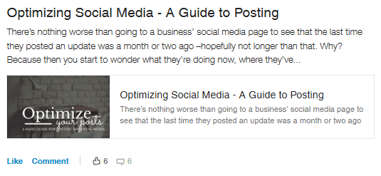 Optimizing Social Media - A Guide to Posting by Sara Howard