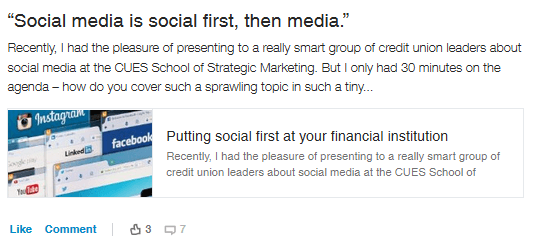 social first then media