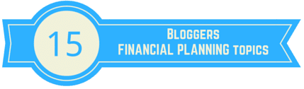 financial planning terms