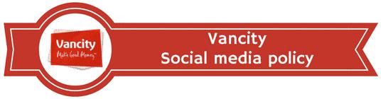 Vancity social media policy